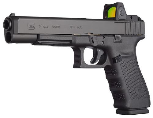 "Glock G40 Gen4 MOS Double 10mm 6.02"" Barrel, Black Interchangeable B, 10rd"