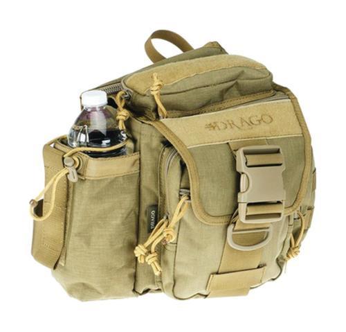Drago Gear Hiker Shoulder Pack Tan
