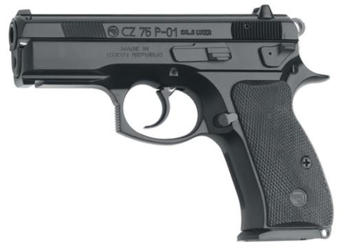 "CZ P-01 9mm, 3.86"" Barrel, Black, 14rd Mag"