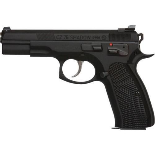 CZ 75 SHADOW TAC II 9mm black - 2x16 rd mags - BY CZ CUSTOM