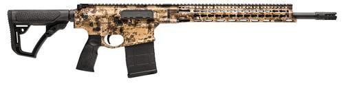 "Daniel Defense DD5 Ambush *Compliant* Semi-Auto 308 Win/7.62mm 18.0"" Barrel, 6-Pos Black Stock Kryptec Highlander, 10rd"