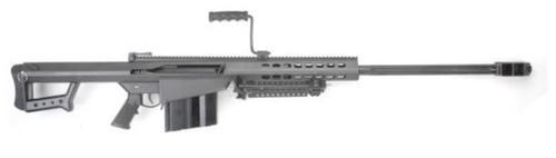 """Barrett 82A1 50BMG Semi Auto Rifle System, 29"""" Barrel, Bipod 10 rd Mag"""