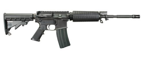 "Windham Weaponry R16 AR-15 5.56 M4 Flat Top Optic Ready, 16"" Barrel Carbon 30rd Mag"