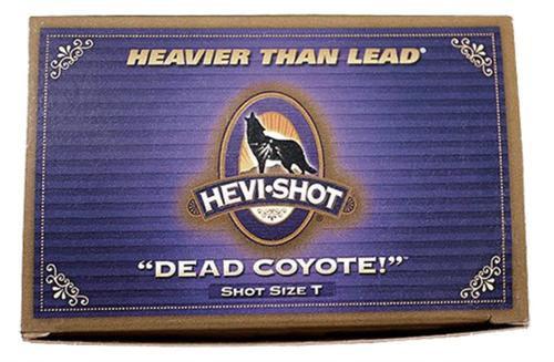 "HEVI-Shot Dead Coyote 10 Ga, 3.5"", 1-3/4oz, 4 Buck Shot, 10rd/Box"