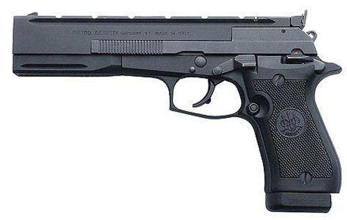 "Beretta Model 87 Target 22LR Single Action Matte Black 5.9"" Barrel"