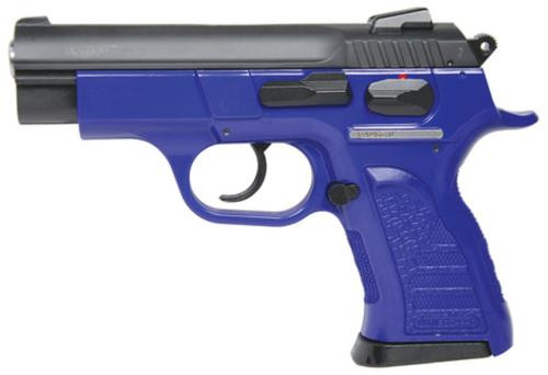 "Tanfoglio Witness P Compact 9mm 3.6"" Barrel Blue Finish Purple Polymer Frame 12rd"
