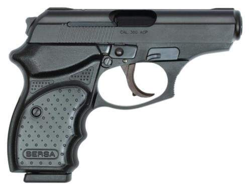 "Bersa Thunder Concealed Carry 380ACP 3.2"" 8rd Mag Synthetic Grip Black"