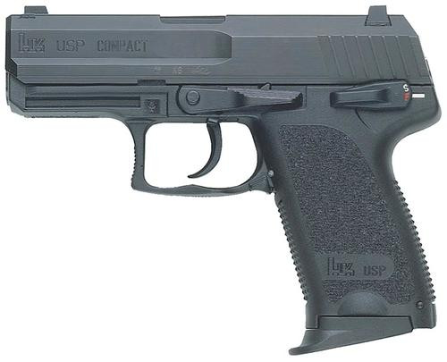 HK USP45 Compact (V7) LEM DAO, two 8rd magazines