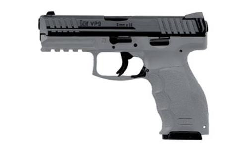 HK VP9, 9mm, (Grey) two 10Rd Magazines