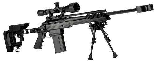 "Armalite AR-31 Target Rifle Bolt .308 Win/7.62 NATO, 24"" Barrel, Black Adustable Stock"