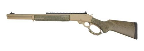 "Marlin 1895 SBL Modern Lever Hunter MLH Custom Shop 45-70, 18"" Barrel, Cerakote Tan, XS Ghost Ring, Happy Trigger"