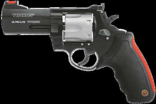 "Taurus 2444041ULT Model 444 UL 44 RemMag 4"" 6rd Cushion Inset Synthetic Grip 2TN"