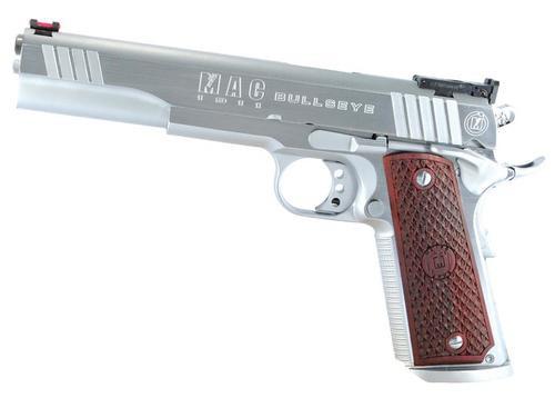 "Metro Arms 1911 Bullseye Single 45 ACP, 6"" Barrel, Hardwood, Logo Hard Chrome,, rd,  8 rd"