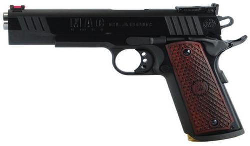 "Metro Arms 1911 Classic 45 ACP 5"" Blue Finish, Adjustable Rear Sight, Hardwood Grips, 8 Round"