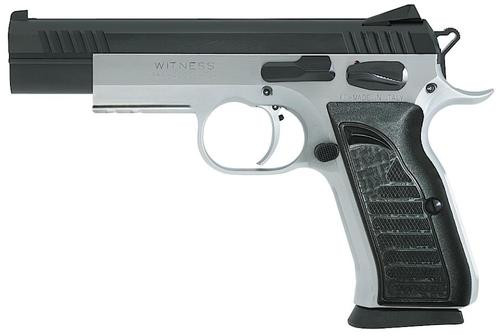 "EAA Witness Elite Match, 38 Super, 4.8"" Barrel Two Tone, 17rd Mag"