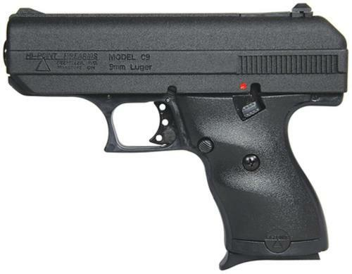 "Hi-Point Compact 9mm, 3.5"" Barrel, Black Poly Grip/Frame, 8rd"