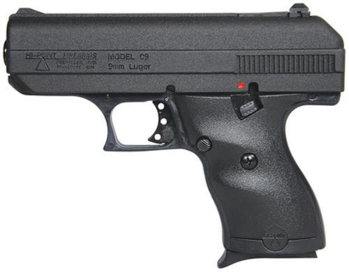 "Hi-Point Compact 9mm, 3.5"" Barrel, Black Poly Grip/Frame, 8rd"