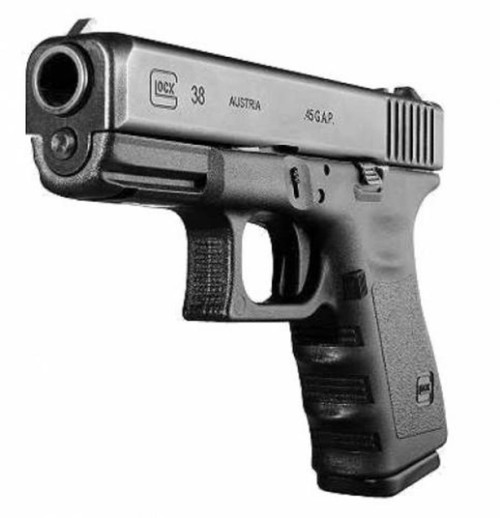 "Glock G38 Gen4, .45 GAP, 4"", 8rd, FS, REFURBISHED"