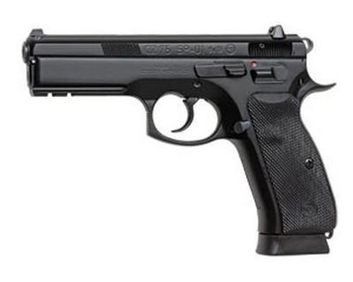 CZ Model SP-01 10 Round 9MM, Decocker/Night Sights/Black