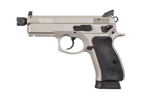 CZ P-01 Omega 9mm, Urban Grey, Suppressor Ready, NS,, , Swappable Safety/Decocker,  10 rd