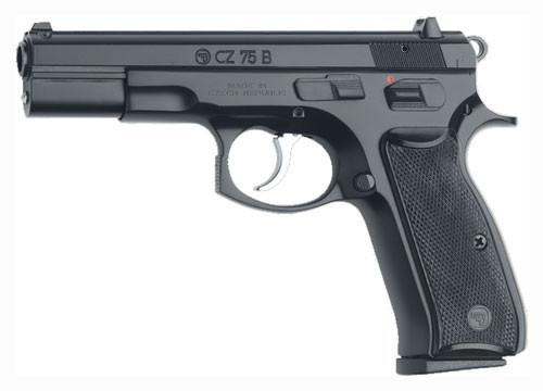 CZ 75 B (Omega) 9mm black - 16rd mags