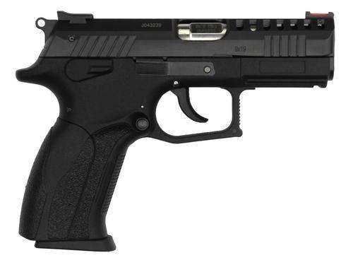 "Grand Power P1 Ultra Single/Double 9mm 3.7"" Barrel, Black Interchan, 15rd"