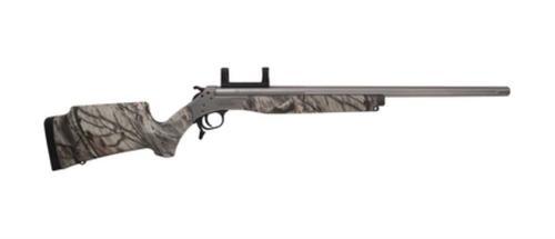 "CVA Elite Stalker Rifle .35 Whelen 24"" Barrel SS Finish Camo Stock"