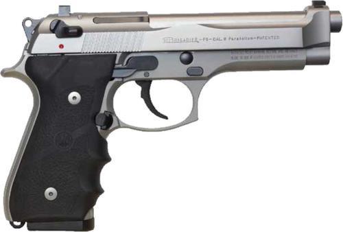 Beretta 92FS Brigadier 9MM INOX, 15 rd Mags