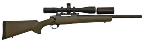 "Howa Hogue/TargetMaster Combo .308 Winchester 20"" Heavy Barrel Green Hogue Stock 4-16x44mm Target Master Riflescope Ill Mil-Dot Reticle"