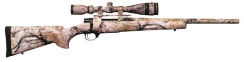 """HOWA Ranchland Compact Rifle/Scope Package 7mm-08 Remington 20"""" Lightweight Barrel Synthetic Stock Full Coverage YOTE Camouflage Finish 5rd With 2.5-10x42mm Nighteater Riflescope"""