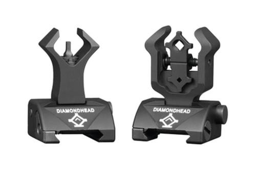 Diamondhead Diamond Integrated Sighting System Front/Rear Sights Matte Black
