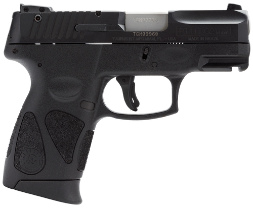 "Taurus PT111 Millenium Pro G2, 9MM 3.25"" Barrel Black Finish 12 Rnd Mag"