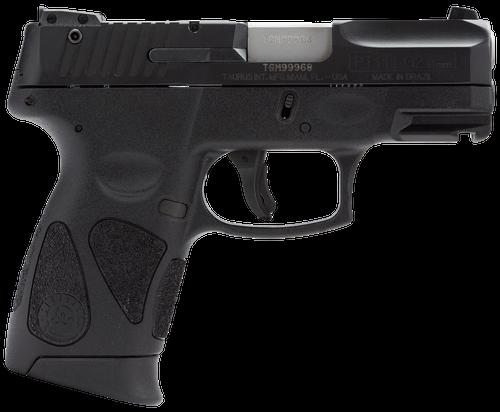 "Taurus PT111 Millenium Pro G2, 9MM 3.25"" Barrel Black Finish 12 Rnd Mag"