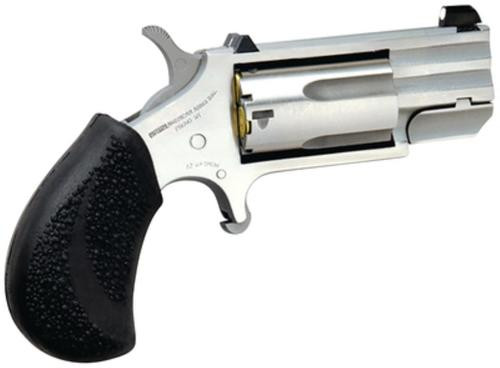 """North American Arms NAA PUG 22 Magnum, 1"""" Heavy Barrel/White Dot Sights & Rubber Grip"""