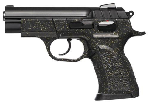 "Witness Pavona Pistol By Tanfoglio .380 ACP 3.6"" Blue Barrel Black Polymer Frame with Gold Flecks 13rd"