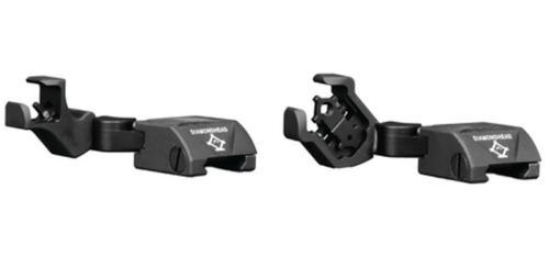 Diamondhead D-45 Swing Flip Sights, Integrated Sighting System, Matte Black