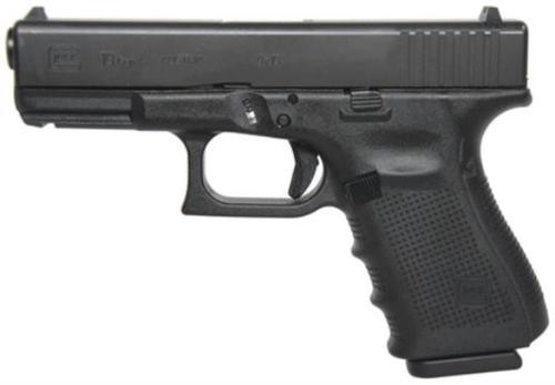 Glock G19 Gen4 9mm Fixed Sights, 10rd Mags
