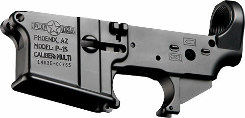 POF Puritan P15 AR-15 Stripped Lower Receiver, Tension Screws