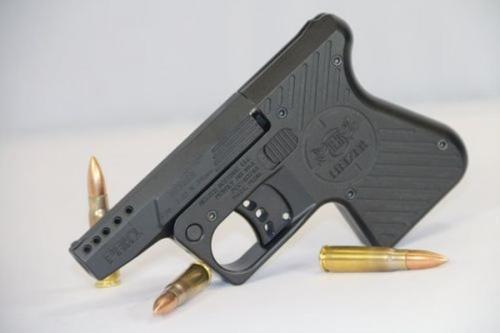 Heizer PAK1 Pocket AK Pistol 7.62x39mm Ported Barrel Steel Frame Black