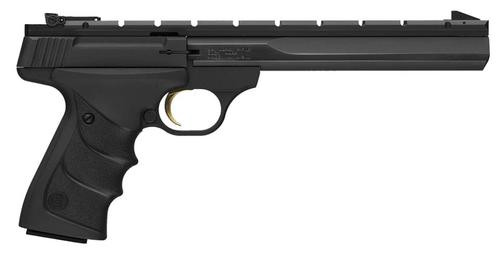 "Browning Buck Mark Contour URX SA 22LR 7.25"" Barrel, Black Grip Black, 10rd"