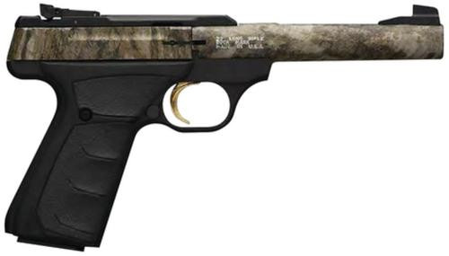 "Browning Buck Mark Camper 22LR Mossy Oak Bottomlands 5.5"" Barrel"
