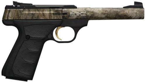 """Browning Buck Mark Camper 22LR Mossy Oak Bottomlands 5.5"""" Barrel"""