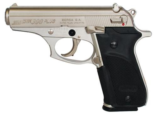 "Bersa Thunder Plus .380 ACP, 3.5"" Barrel, Nickel Finish, 15rd Mag"