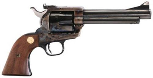 "Colt New Frontier Revolver, .45 Colt, 5.5"", Walnut, Medallion Grip, Royal Blue Finish, 6rd"