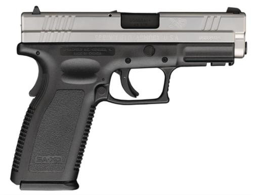 Springfield XD 9mm, 4 Inch, 2 tone, Full Package, 16rd Mags