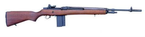 "Springfield M1A Standard SA 308 Win/7.62, 22"" Barrel, Walnut Stock, Blued, 10rd Mag"