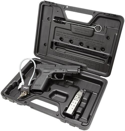 "Springfield XD Essential Package DAO 45 ACP 4"" Barrel, Poly Grip/Frame Black, 10rd"