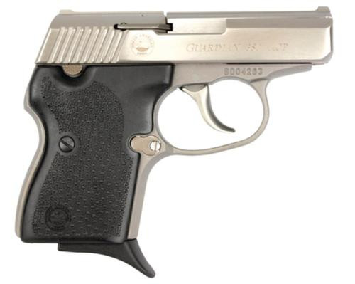 "NAA 380 Guardian 380 ACP 2.5"" Barrel, Black Rubber Grip SS, Integral Locking Safety, 6rd"