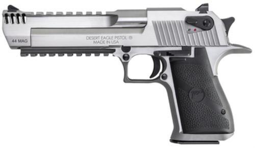 "Magnum Research Desert Eagle Mark XIX Pistol .44 Magnum 6"" Barrel SS, Muzzle Brake 8rd"
