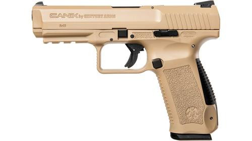 Canik SF Series 9MM Desert Tan Cerakote Finish 2 10rd Mags